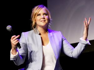 Amy Schumer's Twitter activity has raised eyebrows among feminists.