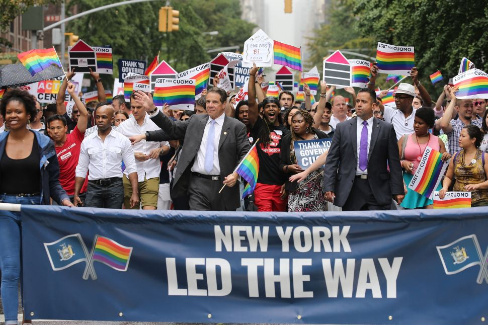During Pride Month, Andrew Cuomo Nominates First Openly Gay Man to New York's Highest Court