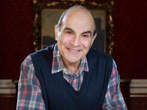 TORONTO, ON - APRIL 24 - Big Interview with David Suchet, posing at The Royal Alexandra Theatre at 260 King St. W. Suchet stars in The Last Confession, and is best known for Agatha Christie's Poirot on television. April 24, 2014. (Photo: Wallace/Toronto Star via Getty Images)