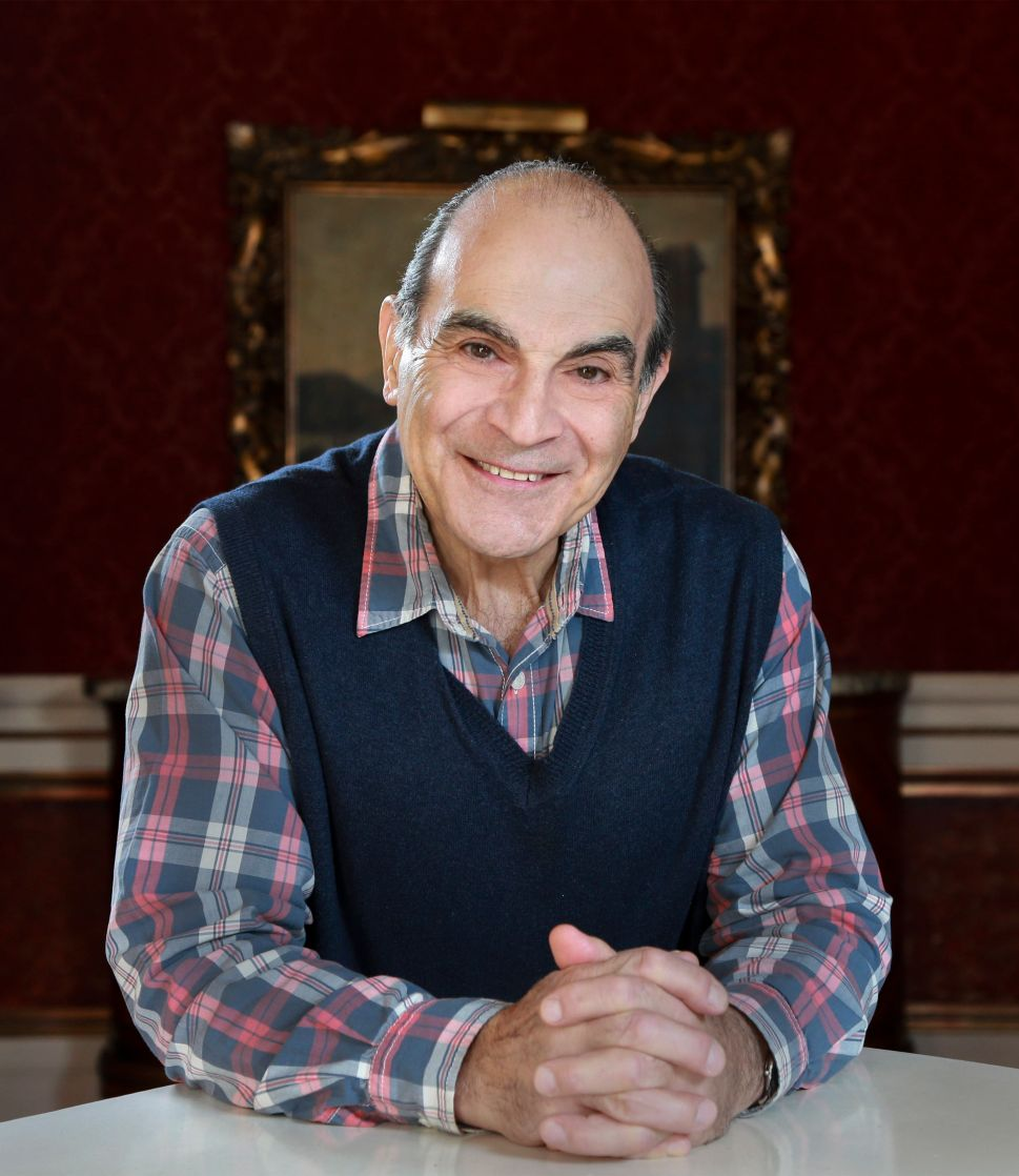 There's Far More to David Suchet Than Hercule Poirot