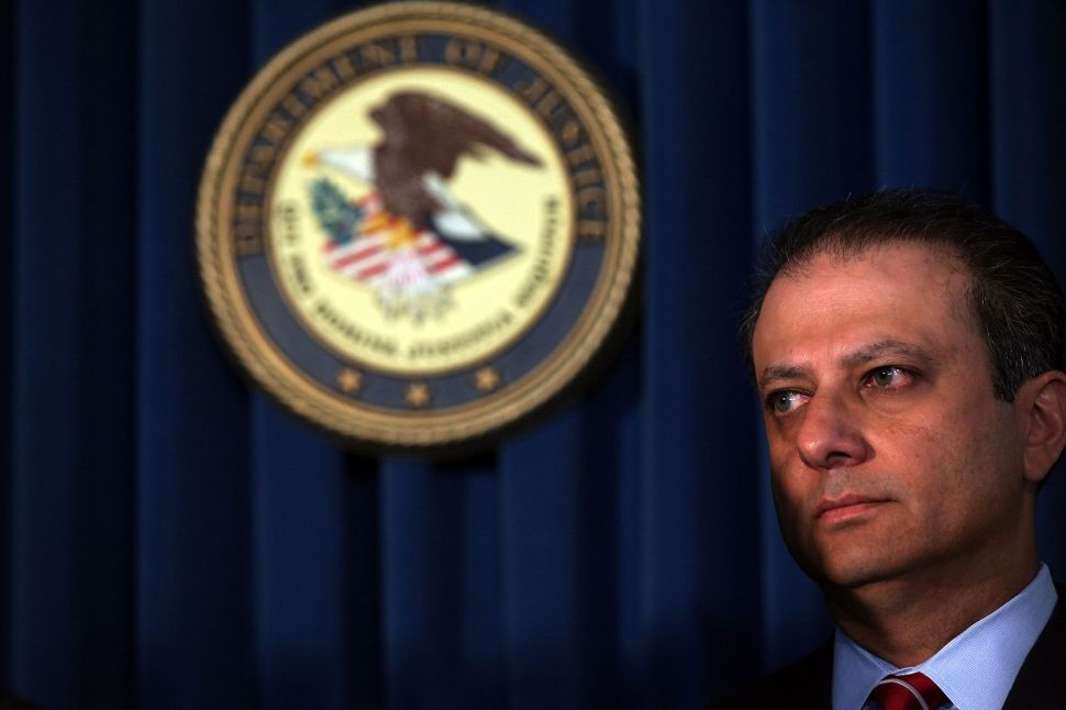 Preet Bharara Won't Bring Criminal Charges in Moreland Commission Probe