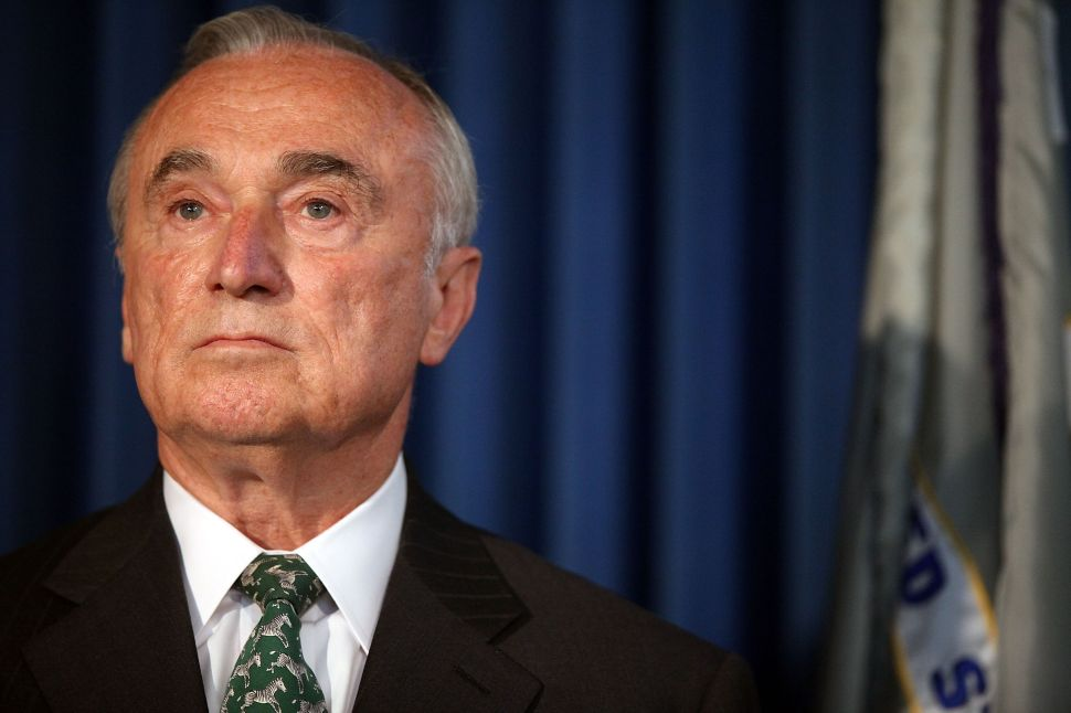 Bill Bratton Is Worried About 6,000 Federal Prisoners Getting Released