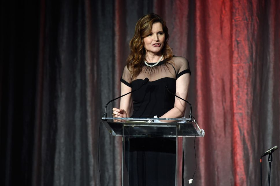 Geena Davis Is On a Mission to Fix Gender Inequality in Hollywood