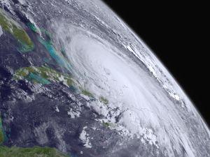 Hurricane Joaquin is seen churning in the Atlantic (Photo: NOAA via Getty Images)