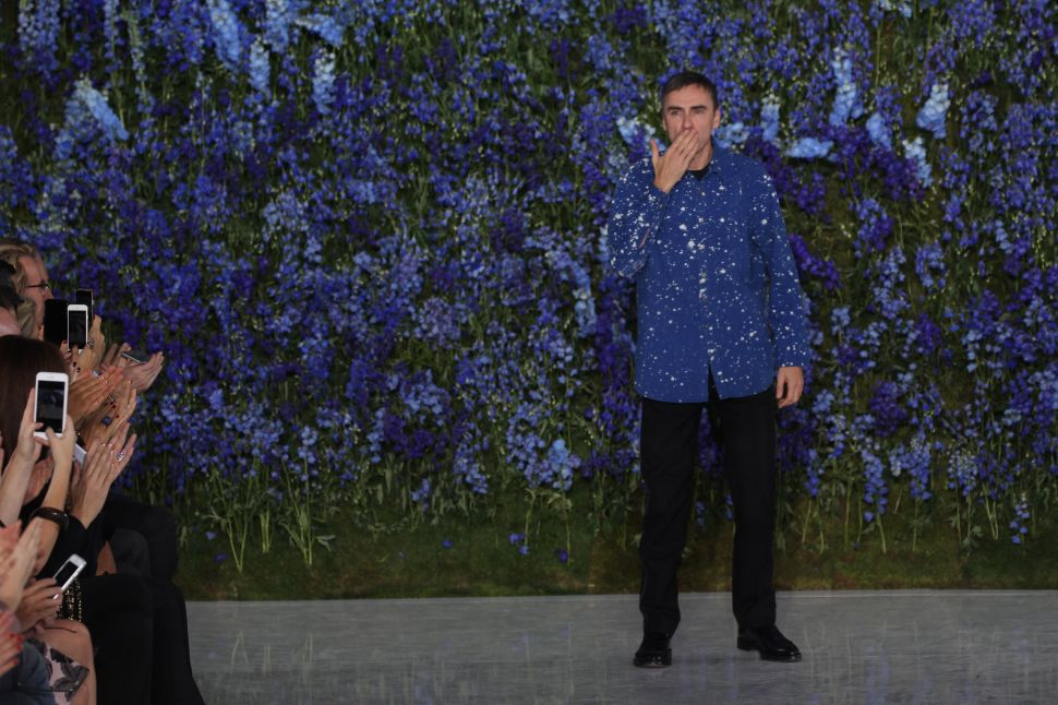 Raf Simons to Leave the House of Dior After Nearly 4 Years