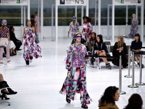 Chanel's Spring 2016 show (Photo: Patrick Kovarick/AFP/Getty Images)