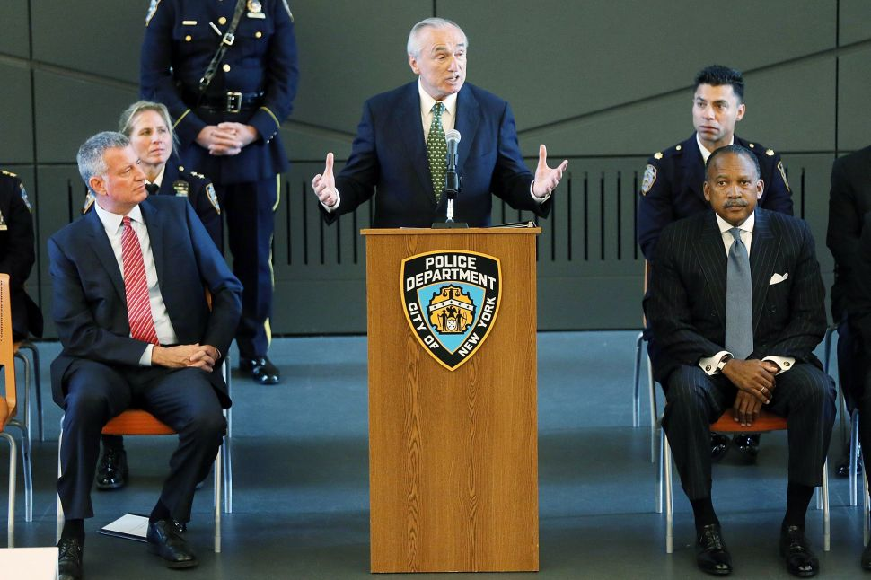 Bill Bratton's Prescient Warning on Inmate Release
