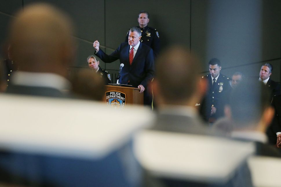 Bill de Blasio Goes 'Above and Beyond' With the Press: Public Advocate