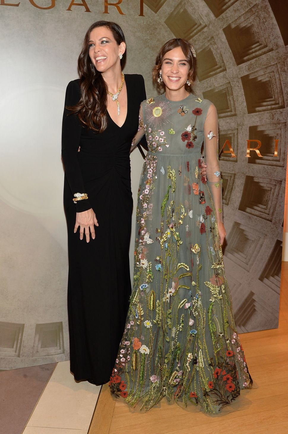 Embellished Roman Garb Was the Dress Code at Bulgari's Lavish Dinner Party