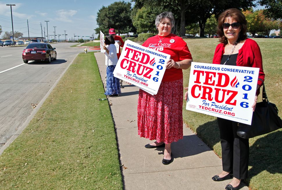 Cruz 'Missile' Blasts Through Trump, Carson, Bush and the Rest