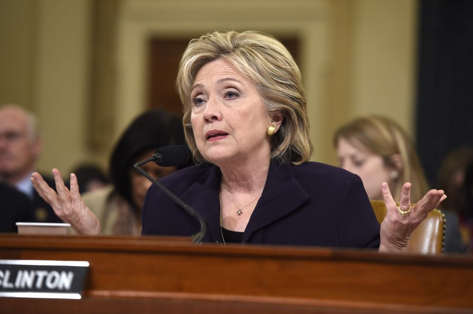 Quite a Show: Republicans Badger Hillary Clinton for 11 Hours