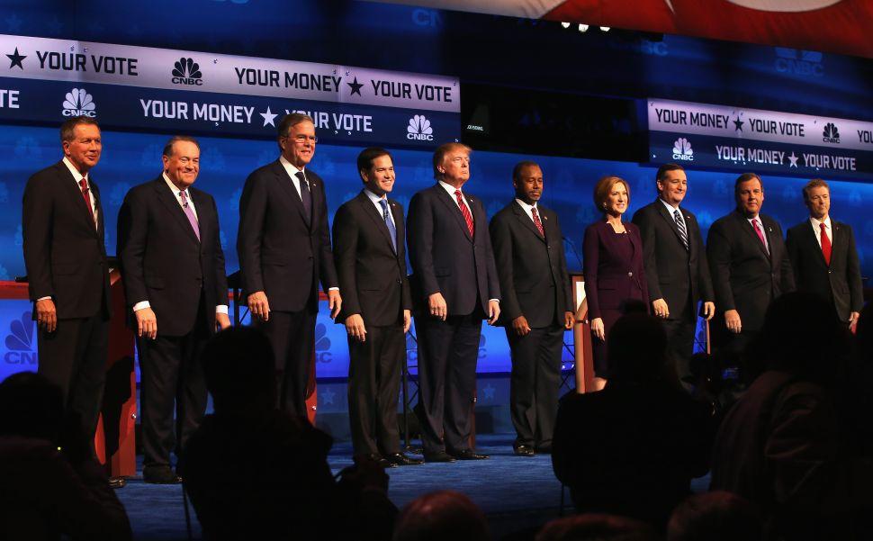 GOP Round Three: The Candidates vs. CNBC