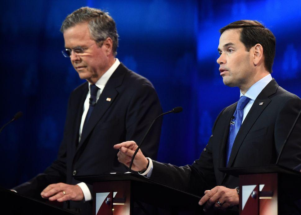 GOP Debate: Rubio Soars, End Is Here for Bush