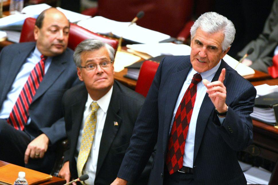 Joseph Bruno Hands Over $1.4 Million in Campaign Cash to Senate GOP