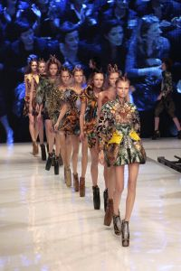 The unforgettable Spring 2010 collection from Alexander McQueen (Photo: Francois Guillot/AFP/Getty Images)