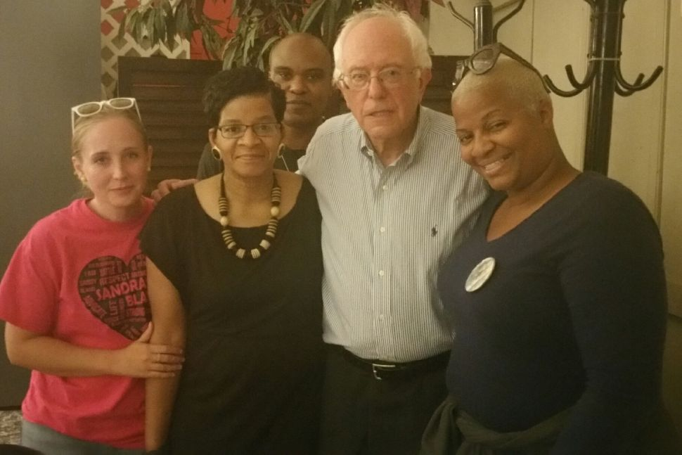 Bernie Sanders Kept a Promise Made in Secret to Sandra Bland's family