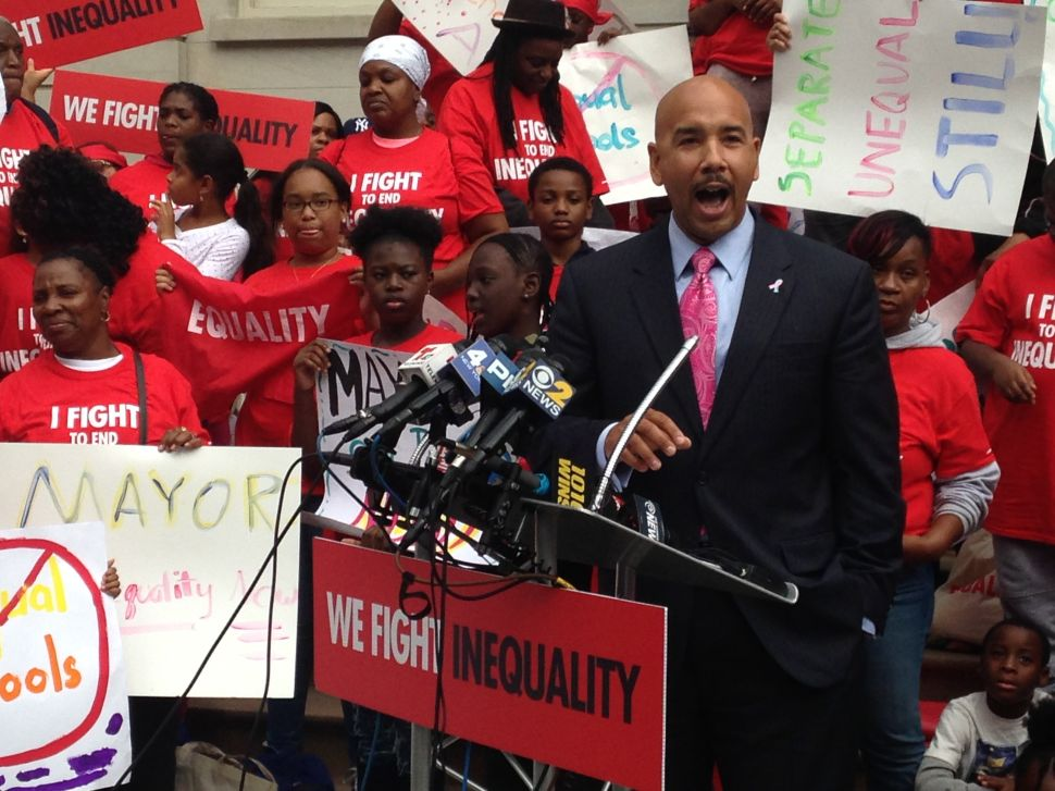 Bronx Borough President Takes on de Blasio Over Charter Schools