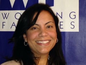 ANALILIA MEJIA. The executive director of Working Families.