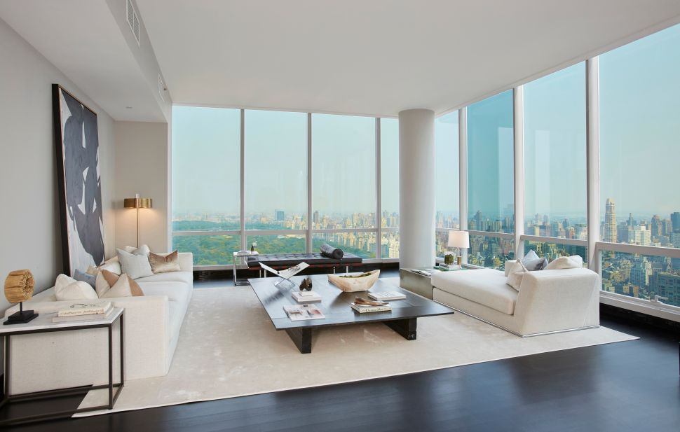 A Half-floor at One57 Provides Singular Views and Appointments Twice as Nice