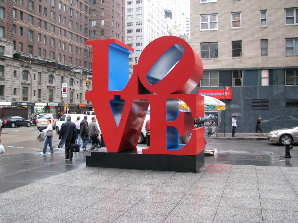 Love for Robert Indiana's 'LOVE' Art Surges, General Patton's Watch to Sell, and More