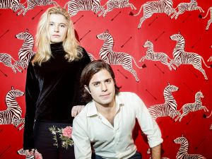 Founders of Paperless Post James and Alexa Hirschfeld (Photo: Melody Melamed for Observer).