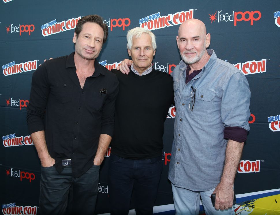 'The X-Files:' What We Learned From Chris Carter, David Duchovny and Mitch Pileggi