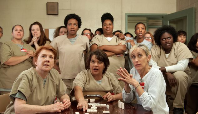 Orange is the New Black promotes a literacy for low-income children.
