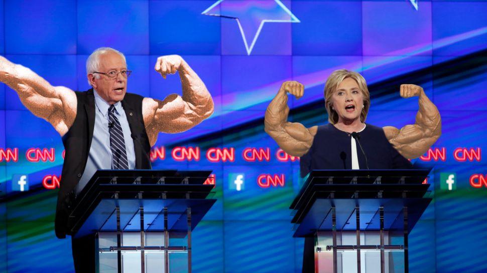 Hillary Clinton, Bernie Sanders Debate 'Photoshop Battle' Proves Internet Is Amazing