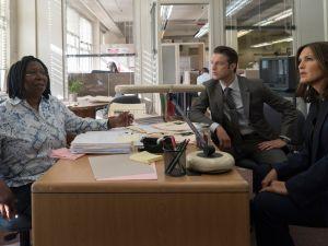 Whoopi Goldberg on SVU. (NBC)