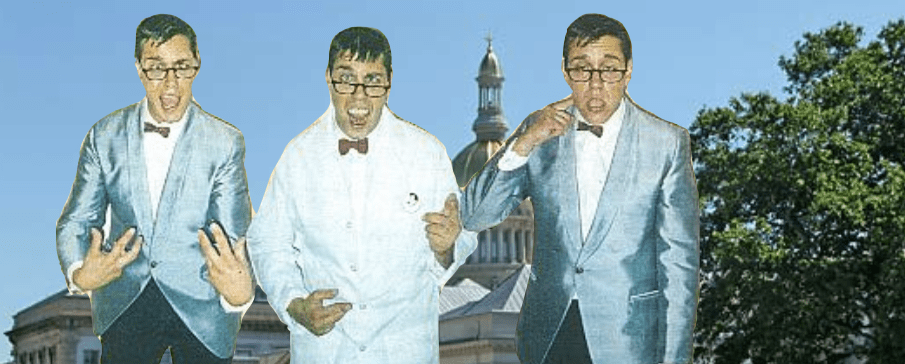 Jerry Lewis Look-A-Likes of the Nutty Professor Monastery to Visit Garden State