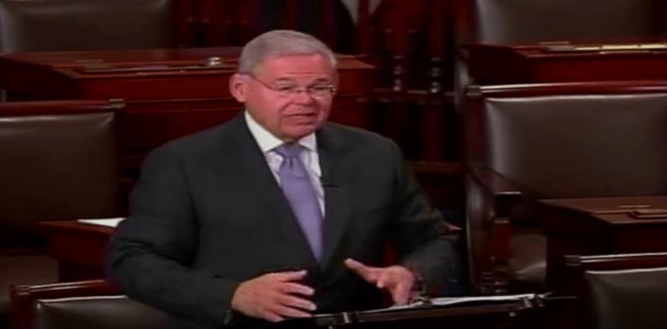 Menendez Slaps GOP Over Proposed 'Trump Act'