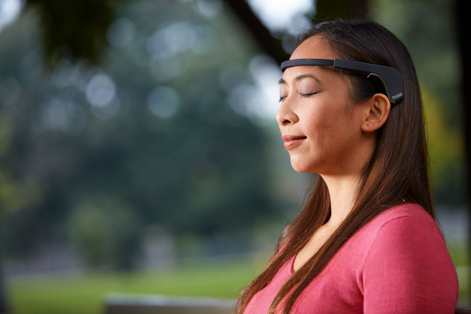 I Tried Muse, the Brain-Sensing Headband That Tracks How Well You're Meditating