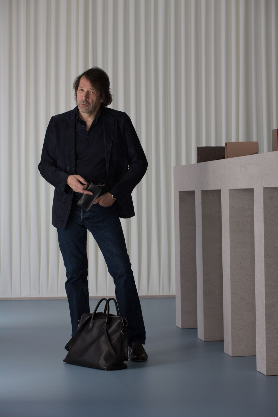 Peter Saville Lends His Design Expertise to Valextra