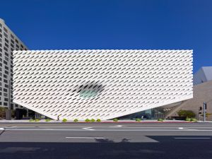 The Broad Museum in Los Angeles. (Photo: Benny Chan)