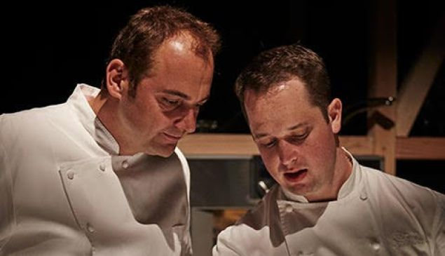 The culmination of Gaggenau's savory ambition, the New York City debut of Restaurant 1683 brought together three Michelin star chef Daniel Humm and partner Will Guidara with former Eleven Madison Park alumni chef Bryce Shuman and Eamon Rockey.