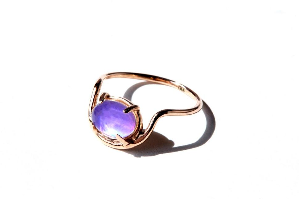 Meet Olivia Fleming: A Journalist Who Designs Mood Rings For Grown-Ups
