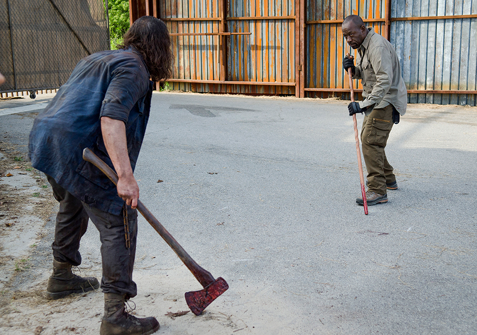 'The Walking Dead' 6×2 Recap: Wolf in Wolf's Clothing