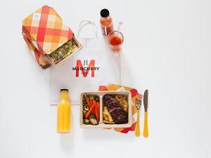 A munchery meal (Photo: Courtesy Munchery).