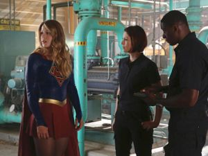 Supergirl giving the super side-eye. (CBS)