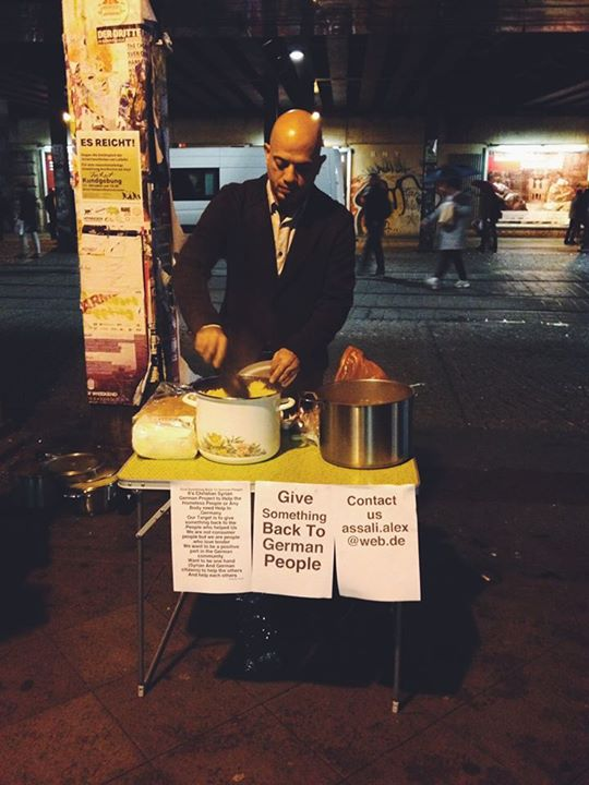 A Syrian Refugee Is Giving Back to Homeless Germans and Now His Story Is Going Viral