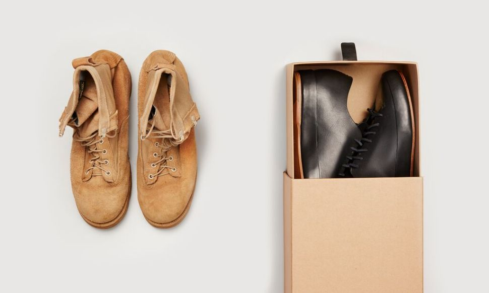 Footwear Shop Goes Feet First With Shoe Drive for the Homeless