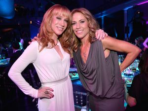 Kathy Griffin and Sheryl Crow attend the 2014 CNN Heroes awards (Photo by Kevin Mazur/WireImage for CNN).