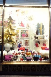 The 2015 Henri Bendel holiday windows (Photo: Getty Images).