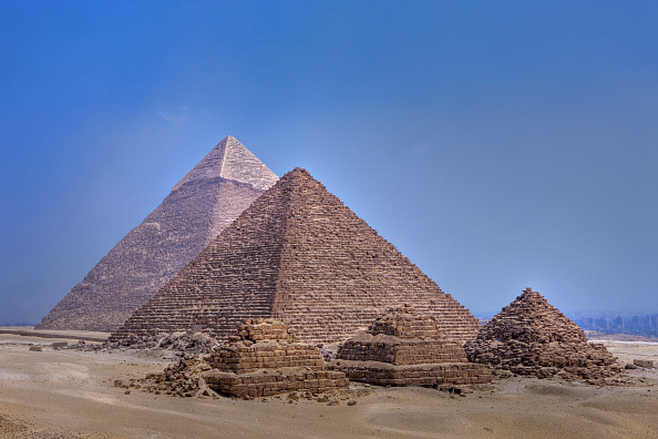 Great Pyramid Scans Reveal 'Thermal Anomalies,' Salads as Performance Art, and More