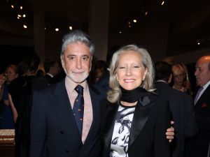 Interior designer Juan Pablo Molyneux and his wife Pilar have parted ways with their Upper East Side limestone they've owned since 1986. (Patrick McMullan)