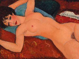 Amedeo Modigliani's Nu couché (Reclining Nude).