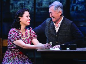 Lea Salonga and George Takei in 'Allegiance.'