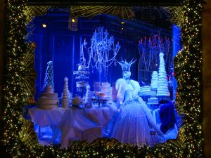The 2015 Saks Holiday Window (Photo: Billy Farrell Agency).