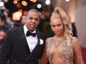 Jay Z and Beyonce attend benefit gala at the Metropolitan Museum of Art in New York City.