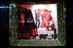The 2015 Bloomingdale's holiday windows (Photo: Billy Farrell Agency).